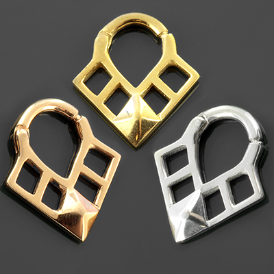 Diamond Triangle Septum Clicker