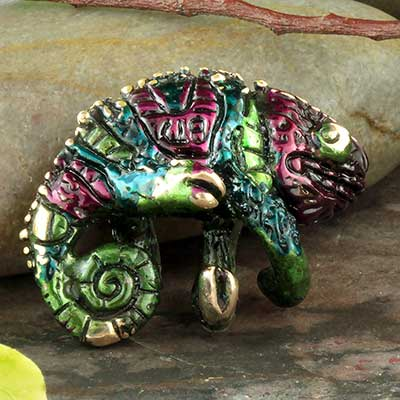 Color plated Chameleon weights