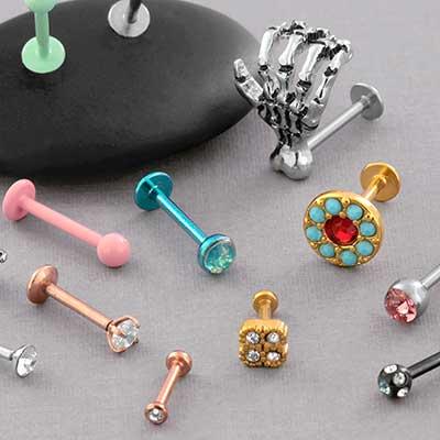 Fancy Labret Jewelry Mystery Bag
