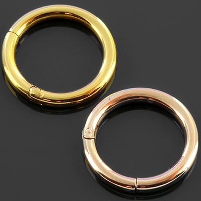 14k Gold Plated Clicker Ring