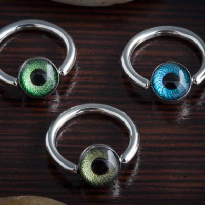 Eyeball captive