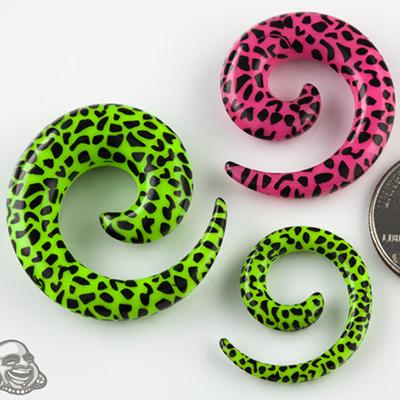 Cheetah Print Spiral