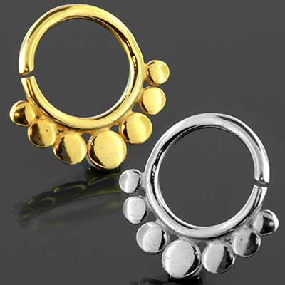 Circles Seamless Septum Ring