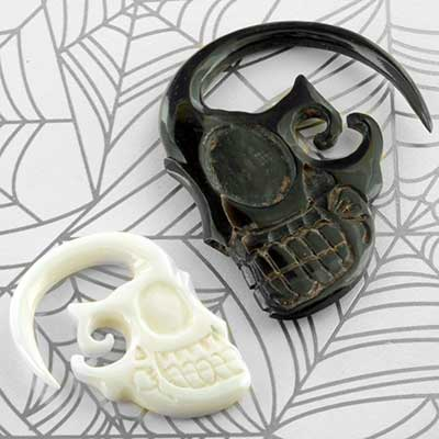 Horn and Bone Sugar Skulls