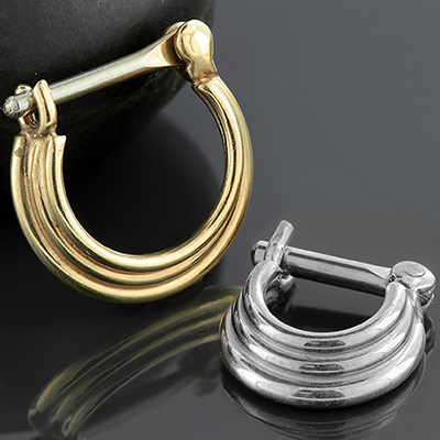 Three-Ring Circus Septum Clicker