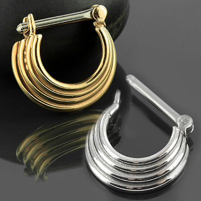 Four-Ring Rodeo Septum Clicker