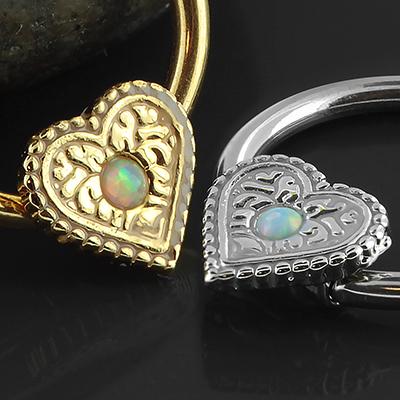 Heart Opal Captive