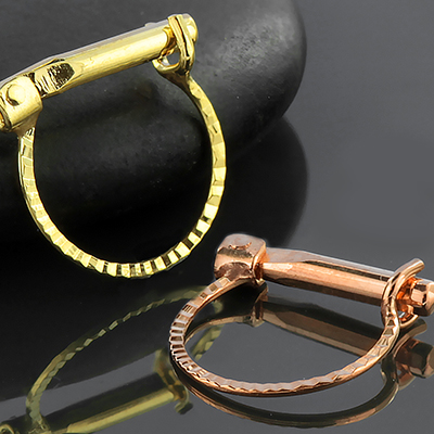 14k Gold Joy Septum Clicker