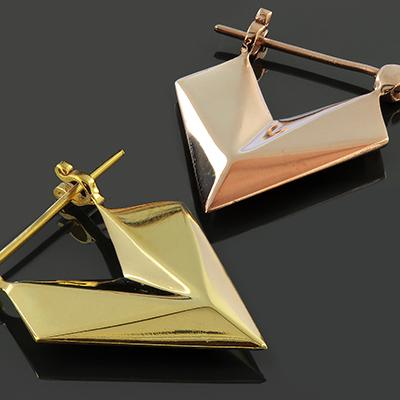 Sunken Arrow Earrings