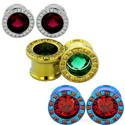 PRE-ORDER Princess Cut Super Gemmed Eyelets