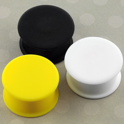 Silicone Solid Front Plug