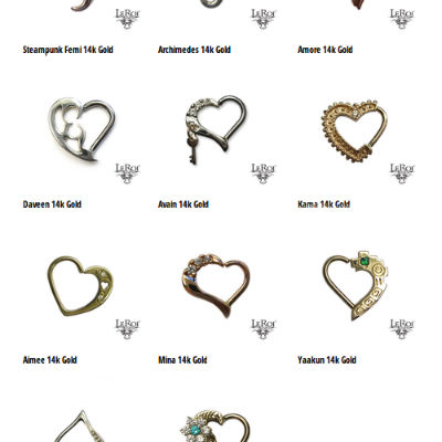 PRE-ORDER 14k Gold King of Heart Collection