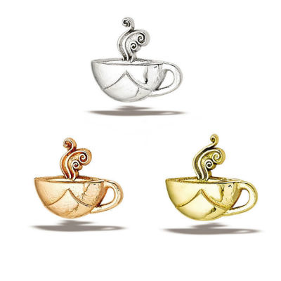 PRE-ORDER 14k gold Coffee Cup End