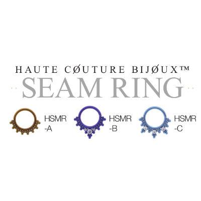 PRE-ORDER Niobium Haute Couture Bijoux Seamless Rings
